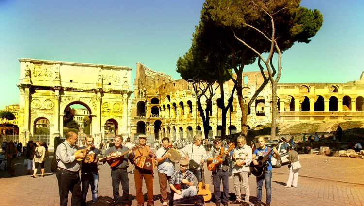 Cantori di civitate - roma colosseo