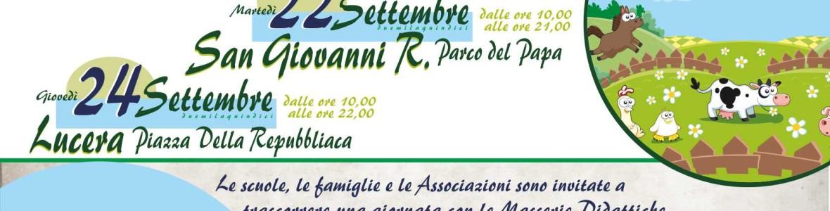 Masserie didattiche in piazza - Agri-Cultura e Campagna